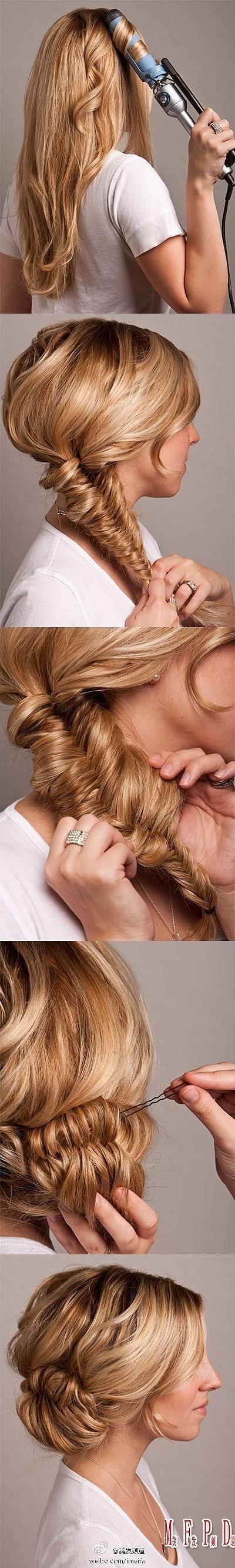 wedding hair tutorial