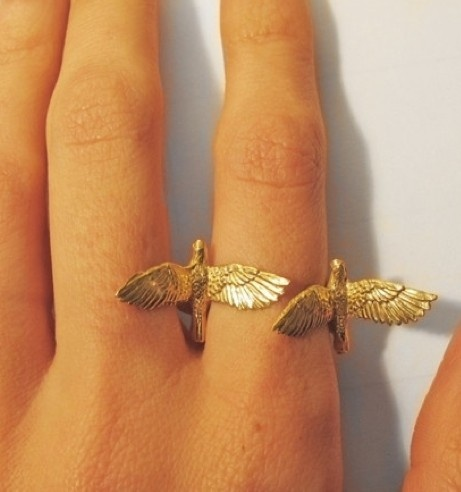 Double birds ring