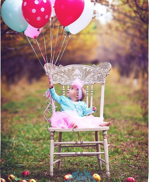 First birthday photo idea