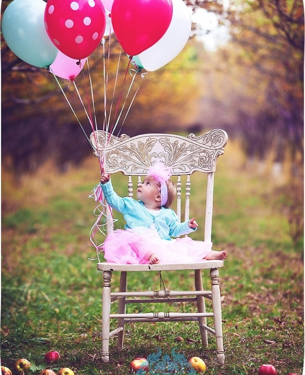 First birthday photo idea