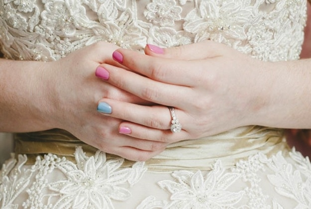 Something Blue Manicure
