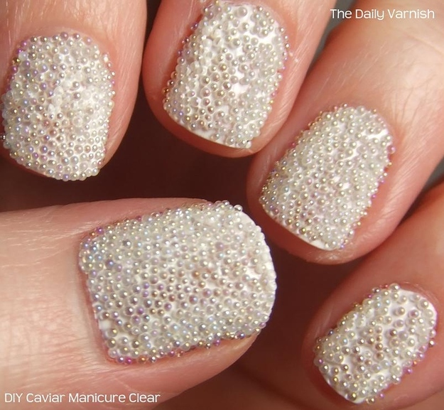 White Caviar Nails
