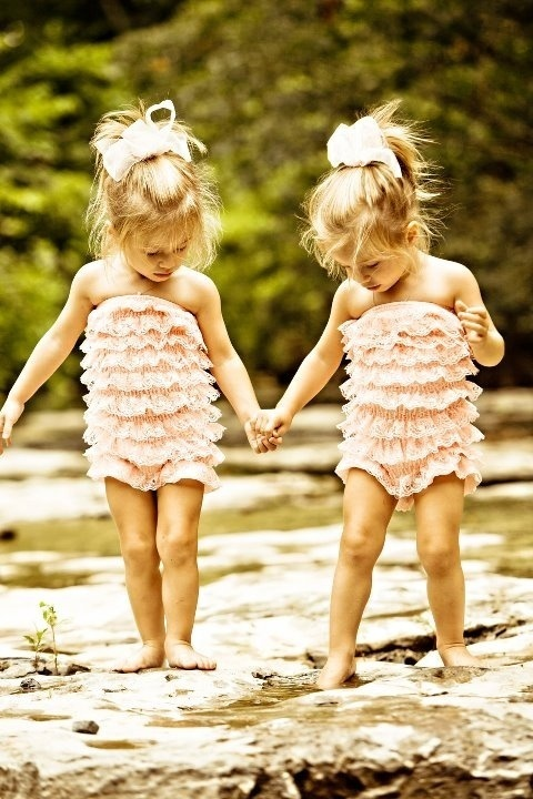 sweet twin baby