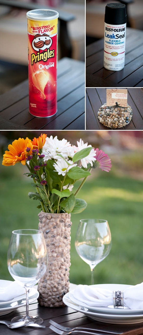 DIY-Rustic-Rock-Vase-Crafts