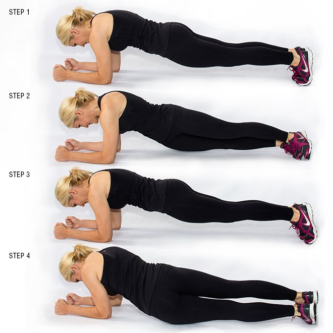PlankHipTwists