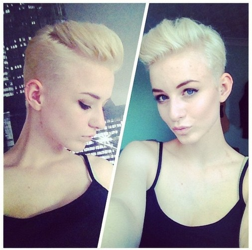 Cool-Spiked-Short-Haircut-for-Women