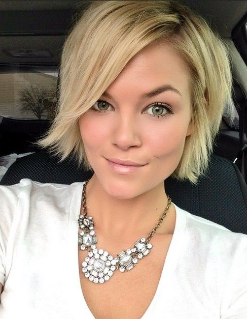 Cute-Short-Blond-Hairstyle