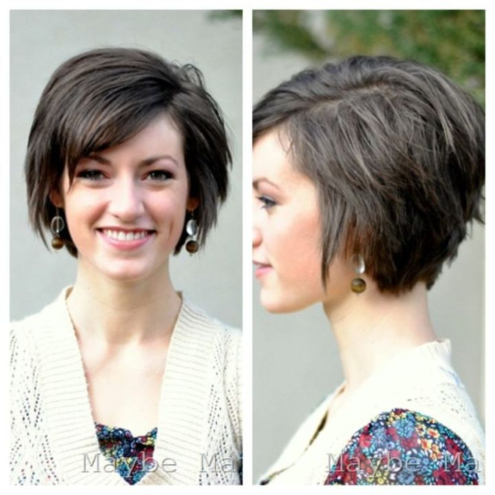 Pretty-Short-Layered-Hairstyle