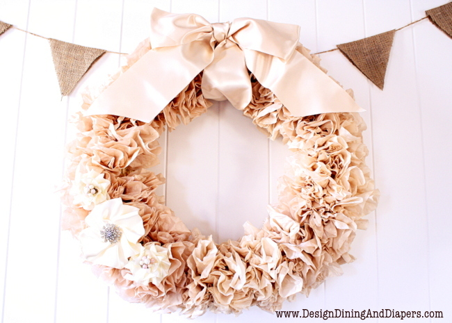 Tea-Stained-Coffee-Filter-Wreath